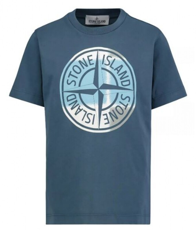 Stone Island Kids | T-Shirt | MO741621052 d.blauw