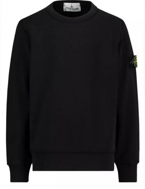 Stone Island Kids | Sweater | MO731661340 zwart