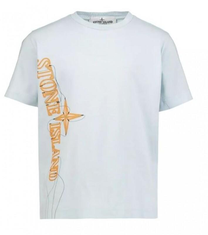 Stone Island Kids | T-Shirt | MO741621059 blauw