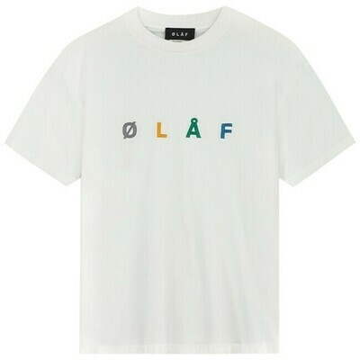 OLAF | T-Shirt | Chainstitch Tee wit