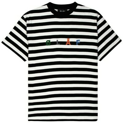 OLAF | T-Shirt |Stripe Sans Tee wit