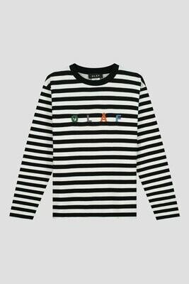 OLAF | T-Shirt | Stripe Sans LS Tee wit