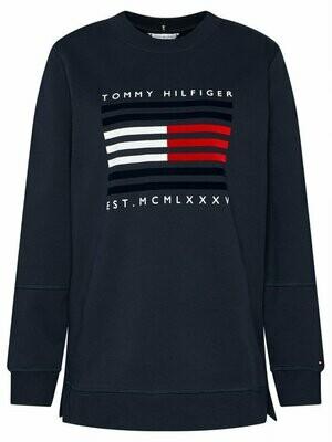 Tommy Hilfiger | Sweater | WW0WW29236 d.blauw