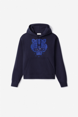 Kenzo   hoodie   FB55SW3174XF d.blauw