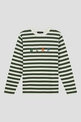 OLAF | T-Shirt | Stripe Sans LS Tee multi