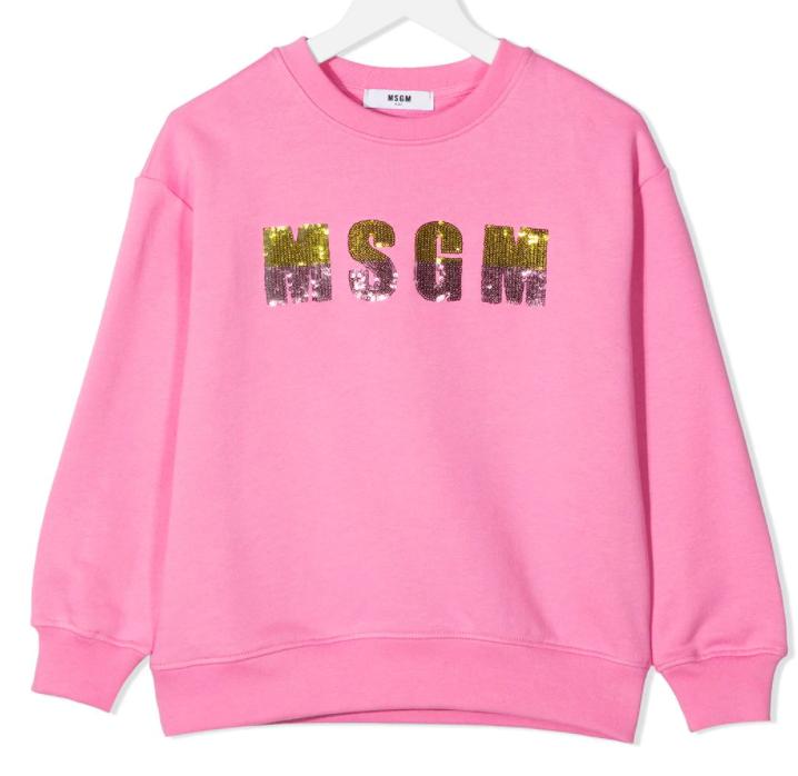 MSGM Kids   Sweater   MS026867 rood