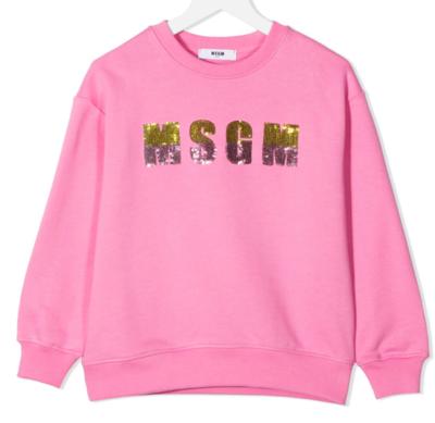 MSGM Kids | Sweater | MS026867 rood