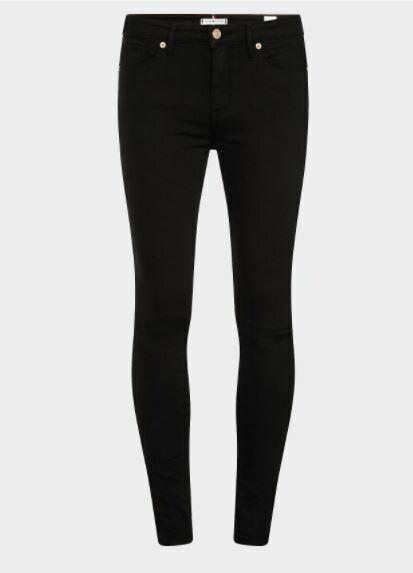 Tommy Hilfiger | Jeans | WW0WW22051 zwart
