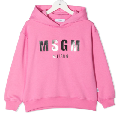 MSGM Kids   Hoody   MS027388 rood