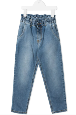 MSGM Kids | Pantalon | MS026814 blauw
