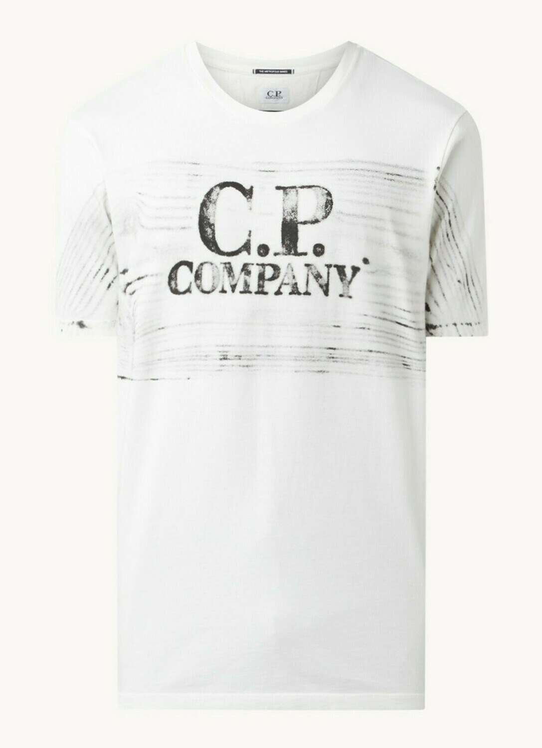 Cp Company | T-shirt | 10CMTS209A 005697H wit
