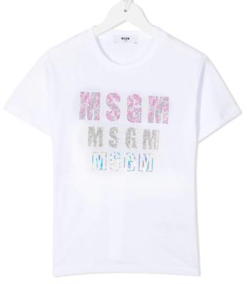 MSGM Kids | T-Shirt | MS026900 wit