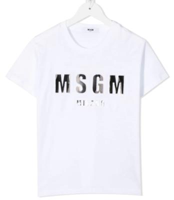 MSGM Kids | T-Shirt | MS027389 wit