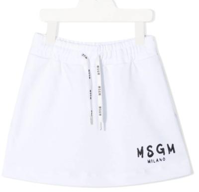 MSGM Kids | Rok | MS026822 wit