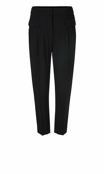 Marccain | Pantalon | QC 81.25 W59 d.blauw