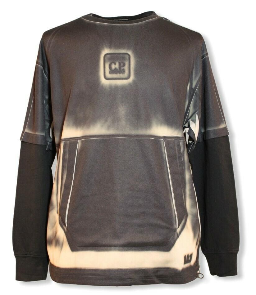 Cp Company | Sweater | 10CMSS107A 006029P zwart