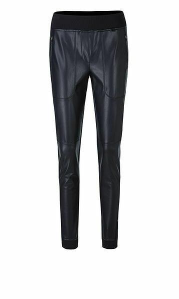 Marccain | Pantalon | QS 81.17 J29 d.blauw