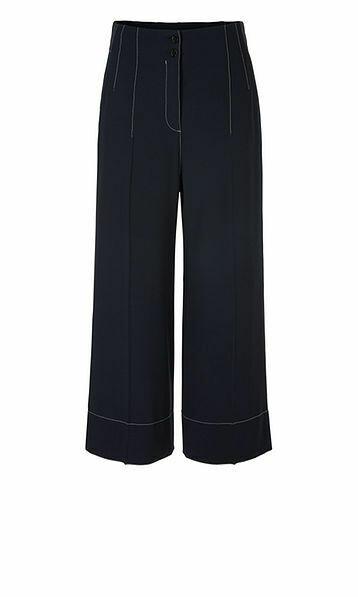 Marccain | Pantalon | QC 81.13 W36 d.blauw