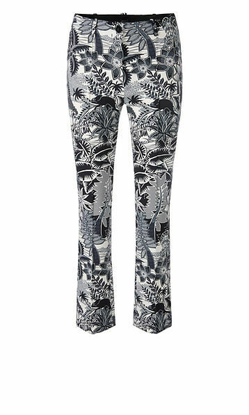 Marccain | Pantalon | QC 81.11 J47 d.blauw