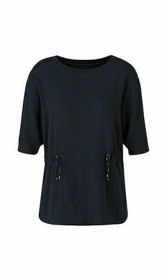 Marccain | T-shirt | QS 55.04 J67 d.blauw