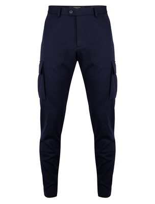 Cavallaro | Pantalon | 121211013 d.blauw