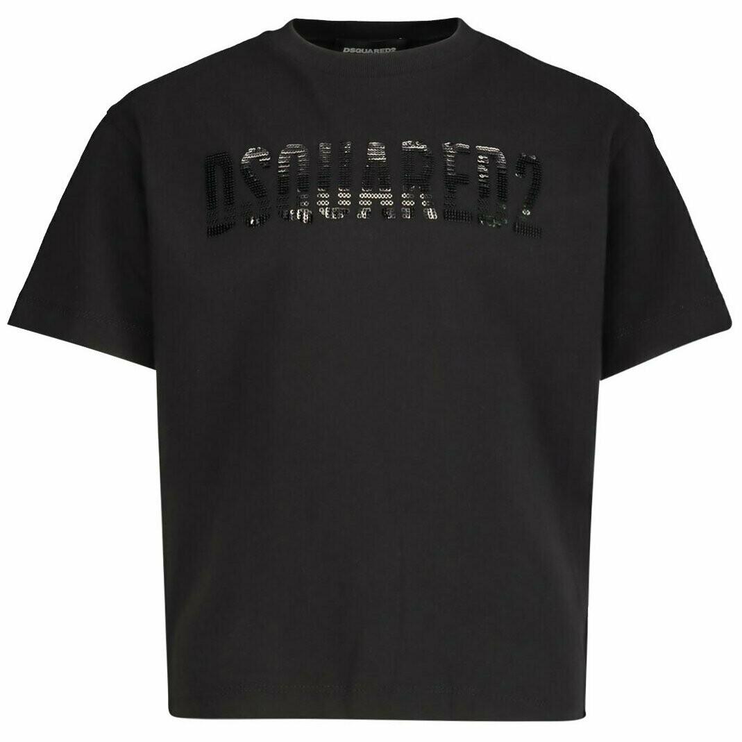 Dsquared2 Kids | T-Shirt | DQ04BU D00MM D2T566F zwart