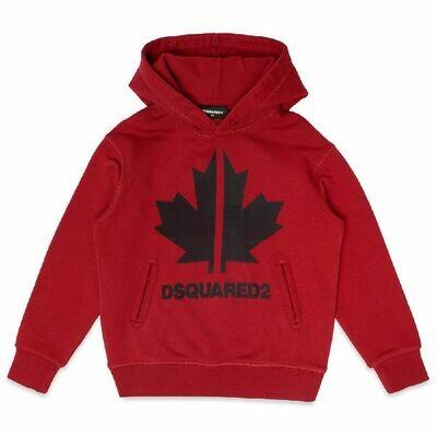 Dsquared2 Kids | Hoodie | DQ049C D00J7 D2S383U rood