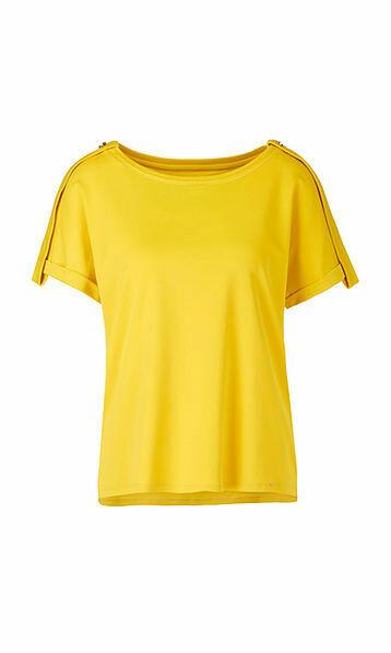 Marccain   T-shirt   QC 48.01 J14 geel