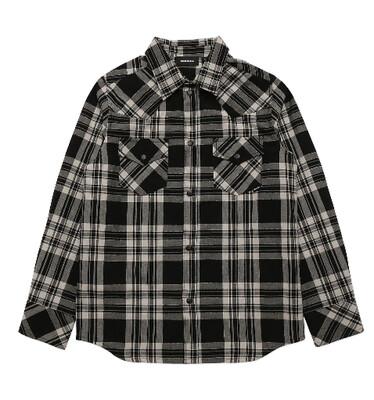 Diesel Kids | Shirt | J00117 KXB63 zwart