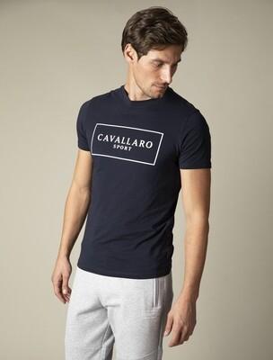 Cavallaro | T-Shirt | 117211007 d.blauw