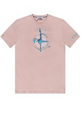 Stone Island | T-Shirt | MO74152NS83 roze