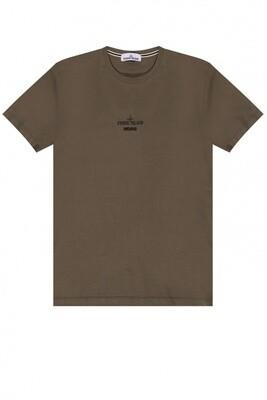 Stone Island | T-Shirt | MO74152NS91 groen