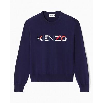 Kenzo | Sweater | FB55PU5413LA d.blauw