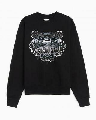 Kenzo   Sweater   FB55SW1164XG zwart