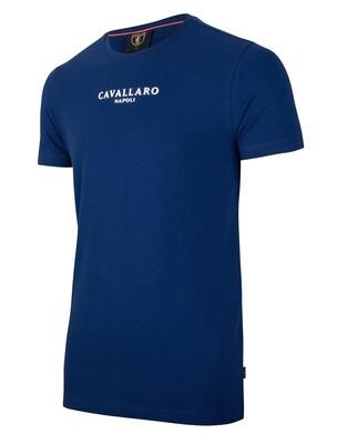 Cavallaro | T-shirt | 117211000 blauw