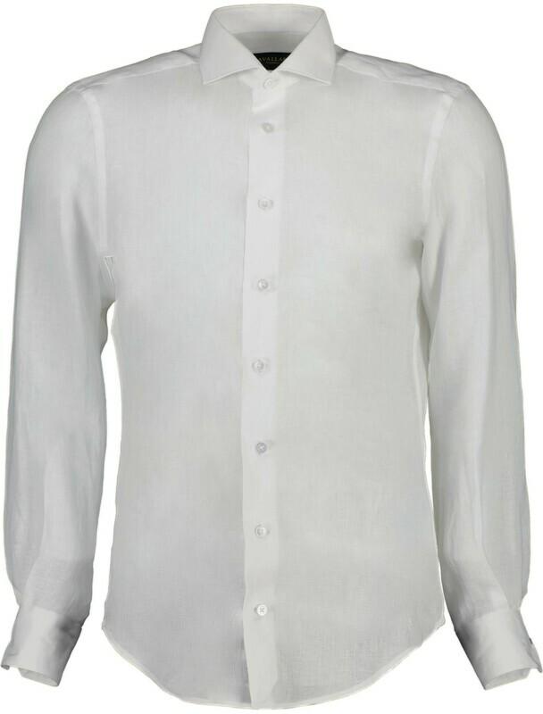 Cavallaro | Shirt Linnen | 110211057 wit