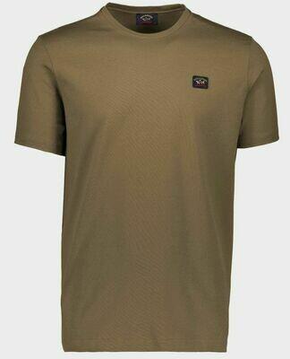 Paul and Shark | T-Shirt | C0P1002 d.groen