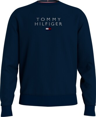 Tommy Hilfiger   Sweater   MW0MW18299 d.blauw