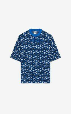 Kenzo | T-shirt | FB55PU5823SC blauw