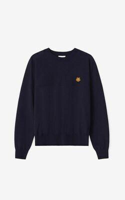 Kenzo   Sweater   FB52PU5823TB zwart