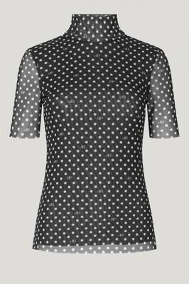 Baum und Pferdgarten | T-shirt | 21547 zwart
