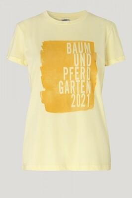 Baum und Pferdgarten | T-shirt | 21679 geel