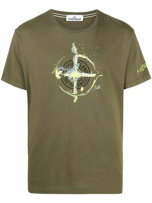 Stone Island | T-shirt | MO74152NS83 groen
