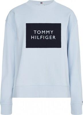 Tommy Hilfiger   Sweater   WW0WW30391 l.blauw