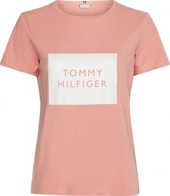 Tommy Hilfiger | T-shirt | WW0WW30658 roze