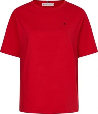 Tommy Hilfiger | T-shirt | WW0WW30469 rood
