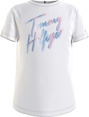 Tommy Hilfiger Kids | T-Shirt | KG0KG05870 wit