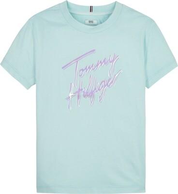 Tommy Hilfiger Kids | T-Shirt | KG0KG05870 l.blauw