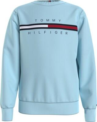 Tommy Hilfiger Kids | Sweater | KB0KB06568 l.blauw