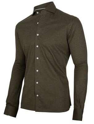 Cavallaro | Shirt | 110211005 d.groen